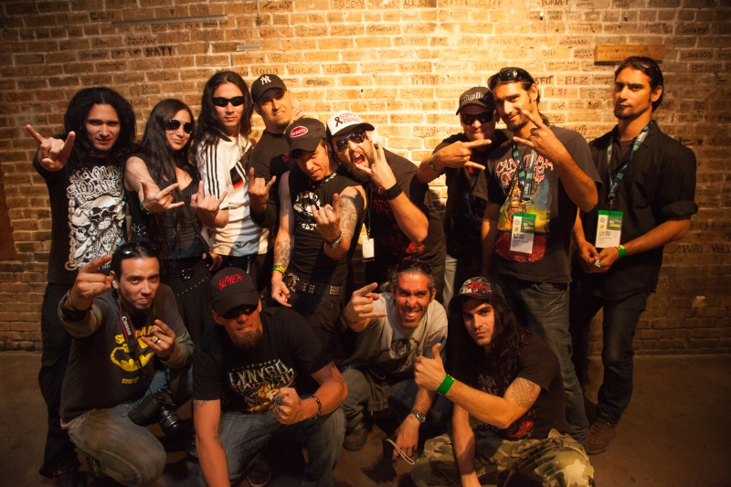 Escape with members of Agonizer and Ancestor in Austin at JR's for SXSW.