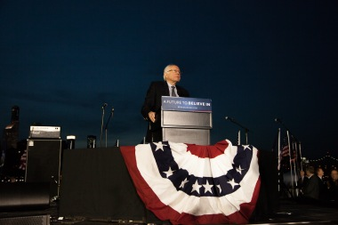 Bernie Sanders, Long Island City , NYC