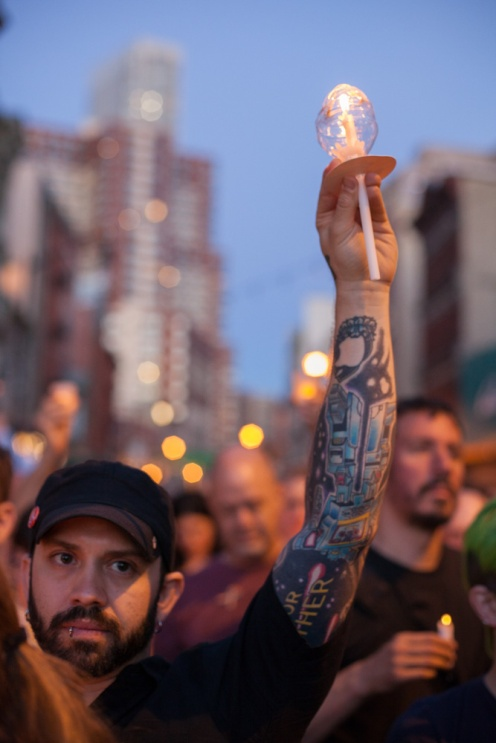 Demonstration for Orlando, Jersey City